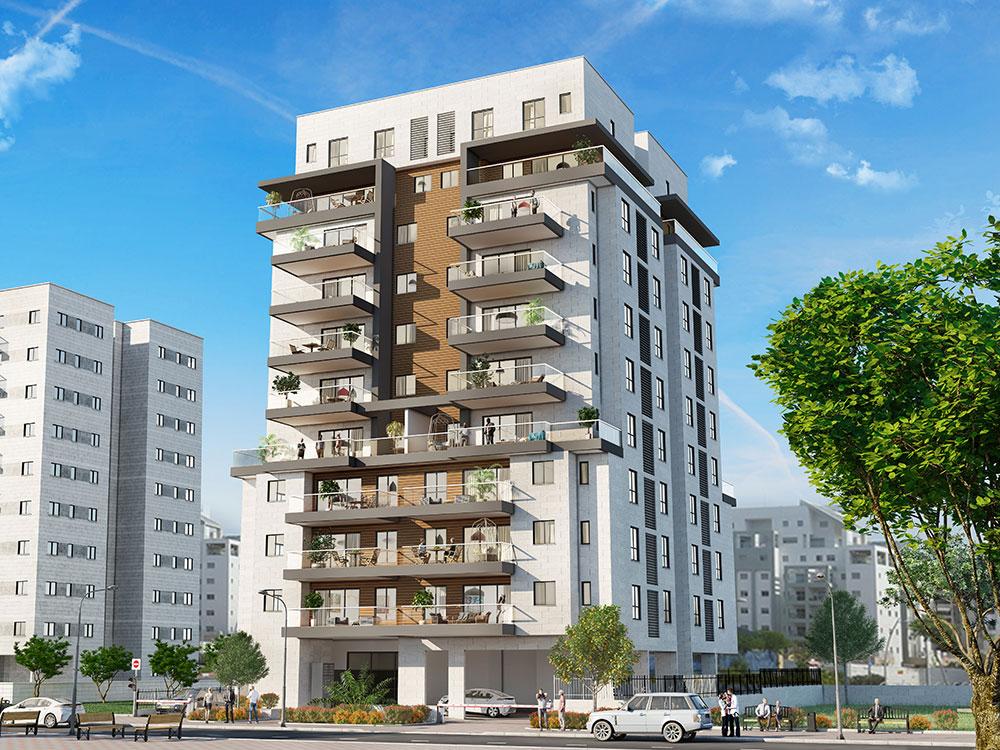 """צה""""ל 62, פתח תקווה, בפרויקט נוה עוז הירוקה של קטה יזמות בניה והשקעות, הינו פרויקט בוטיק ובו 36 דירות חדשות הנבנה בחלק הצפוני של שכונת נוה עוז."""