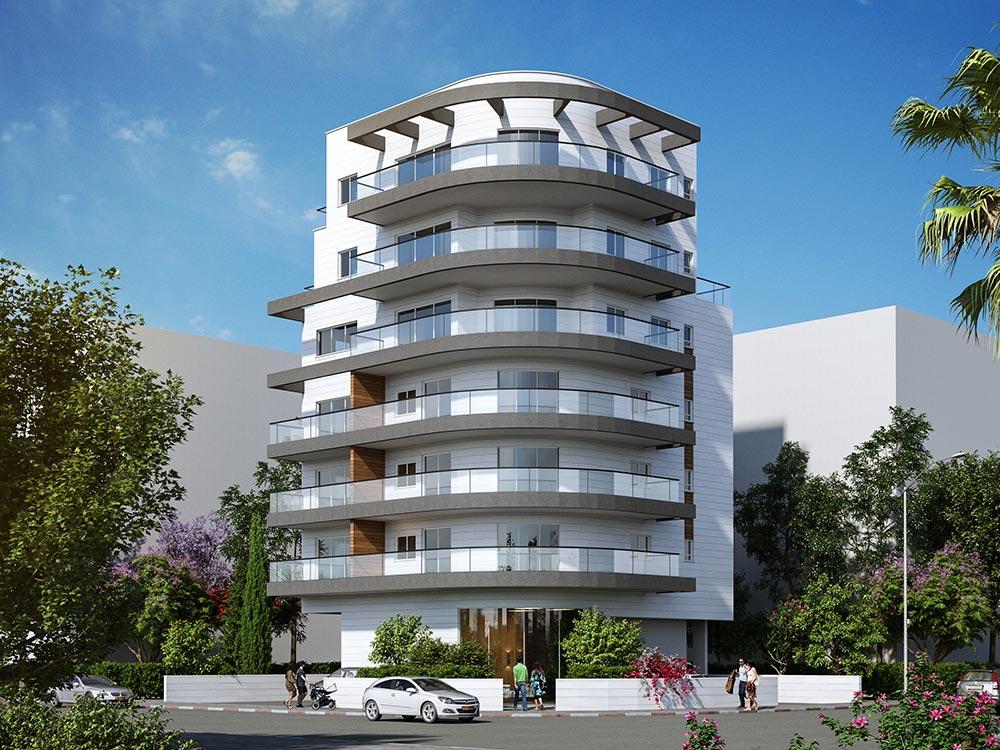 זכרון משה 8, פתח תקווה - אחד מסדרת בנייני הבוטיק של קטה יזמות בו נבנה בימים אלו בניין ייחודי ובו 9 דירות חדשות.
