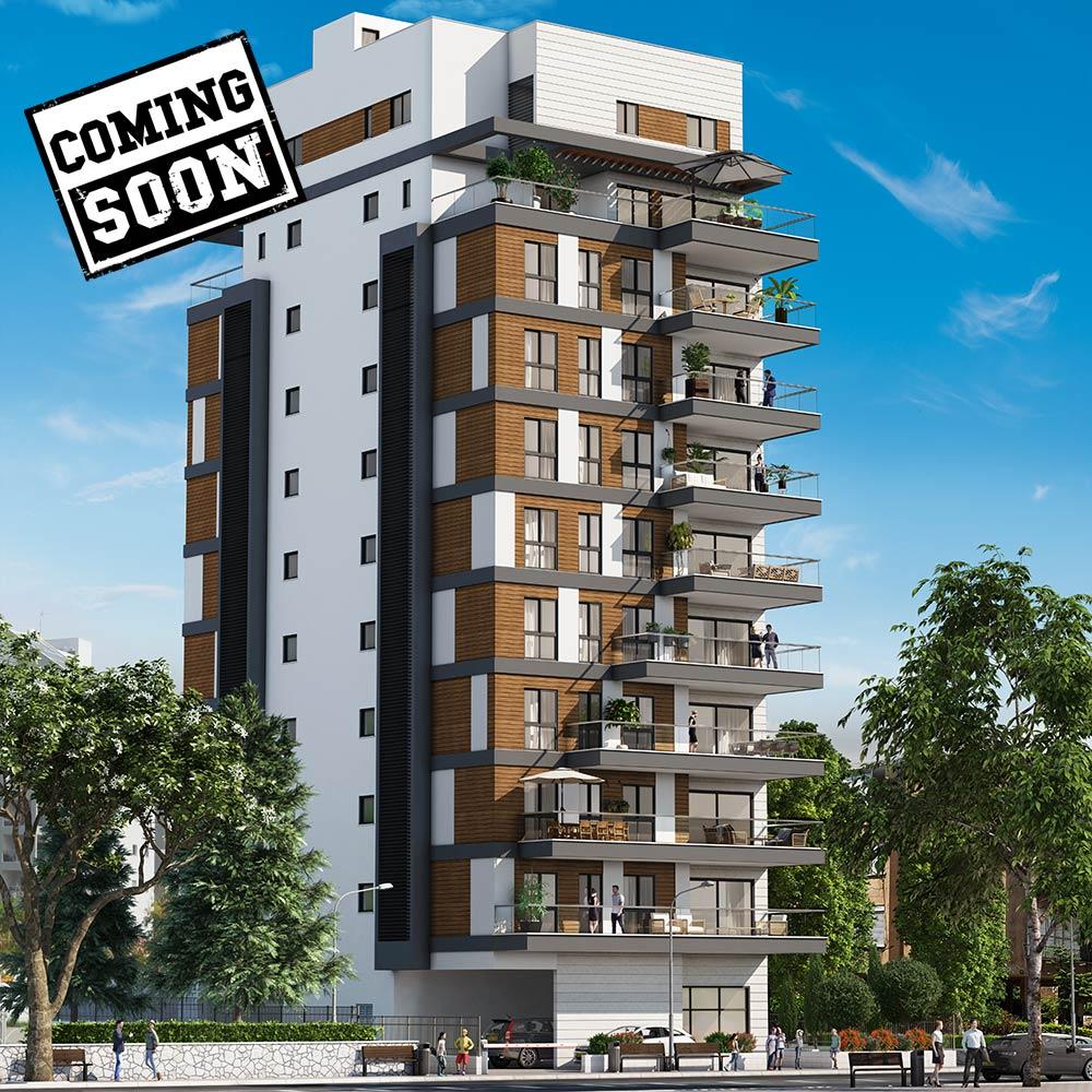 """בית ספיר הינו פרויקט """"הריסה ובנייה"""" של קטה יזמות ובנייה, שבמקומו עתיד לקום ברחוב טרומפלדור 56 בניין בוטיק אינטימי עם 2 דירות בלבד בקומה."""