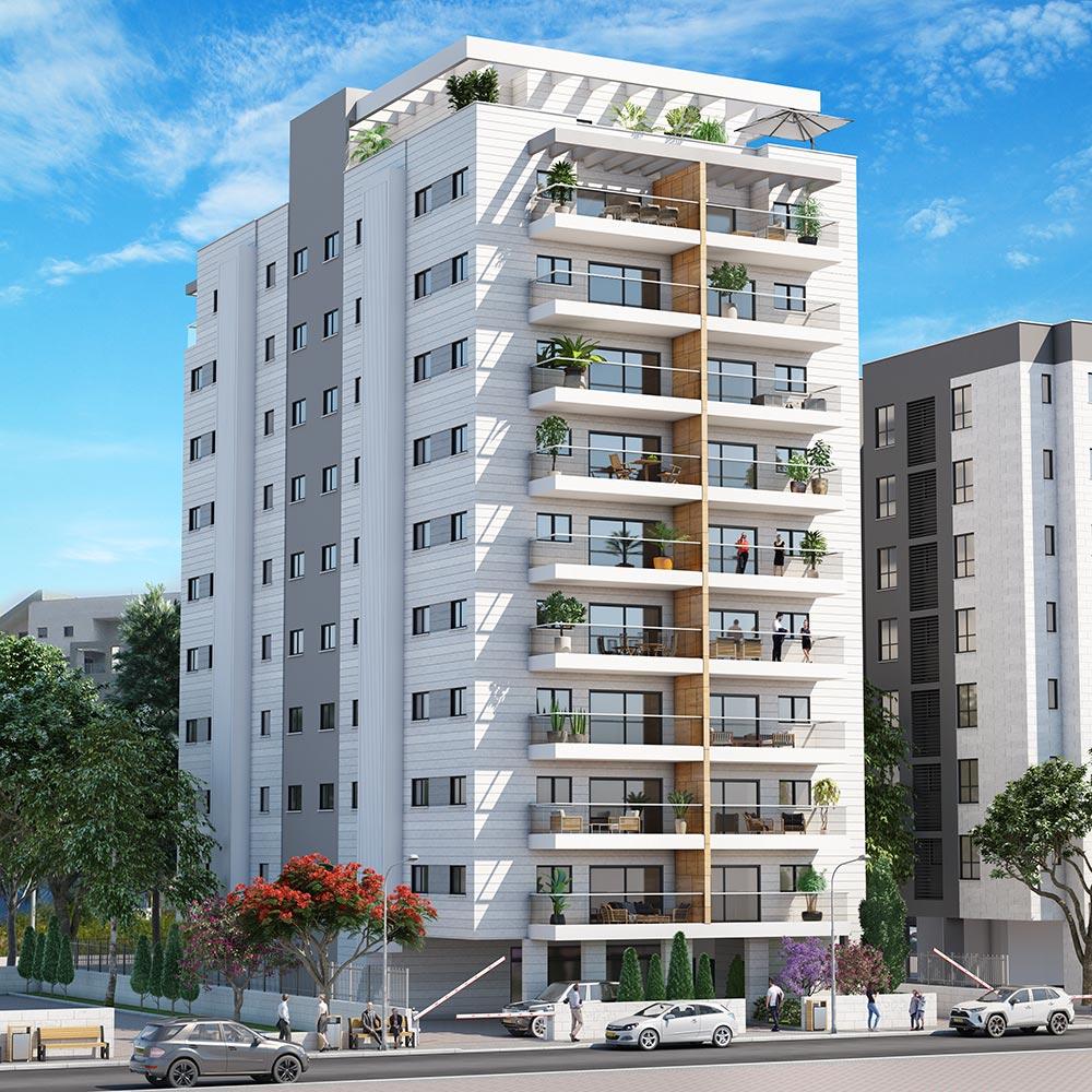 פרויקט כרמלי 14 של קטה יזמות בניה והשקעות בו ייהרס בניין ישן בו מתגוררות כיום 12 משפחות ובמקומו ייבנה בניין חדש בן 36 דירות חדשות.