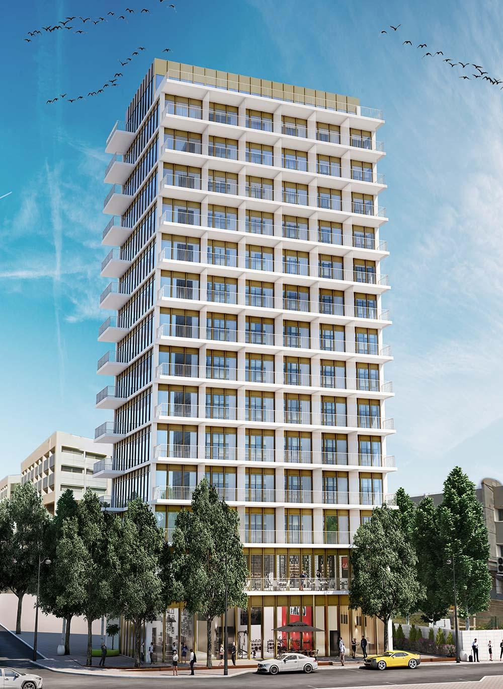 פרויקט לשם של קטה יזמות בניה והשקעות – מלון עסקים חדש ויוקרתי בן 15 קומות ושטחי מסחר, אשר יוקם בלב מרכז ההיי-טק של פתח-תקווה.