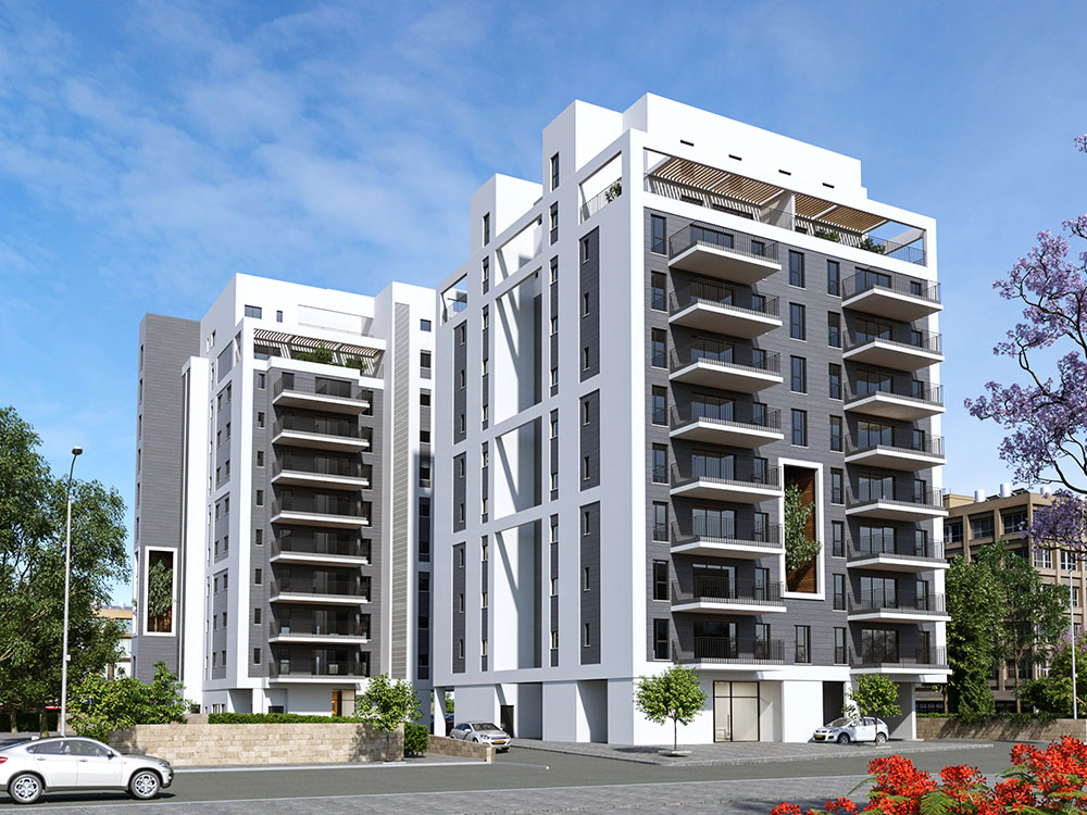 פרויקט קפלן 39-41 של קטה יזמות בניה והשקעות בו יהרסו שני בניינים ישנים בהם מתגוררות כיום 24 משפחות, ובמקומם ייבנו 2 בניינים בני 72 דירות חדשות.
