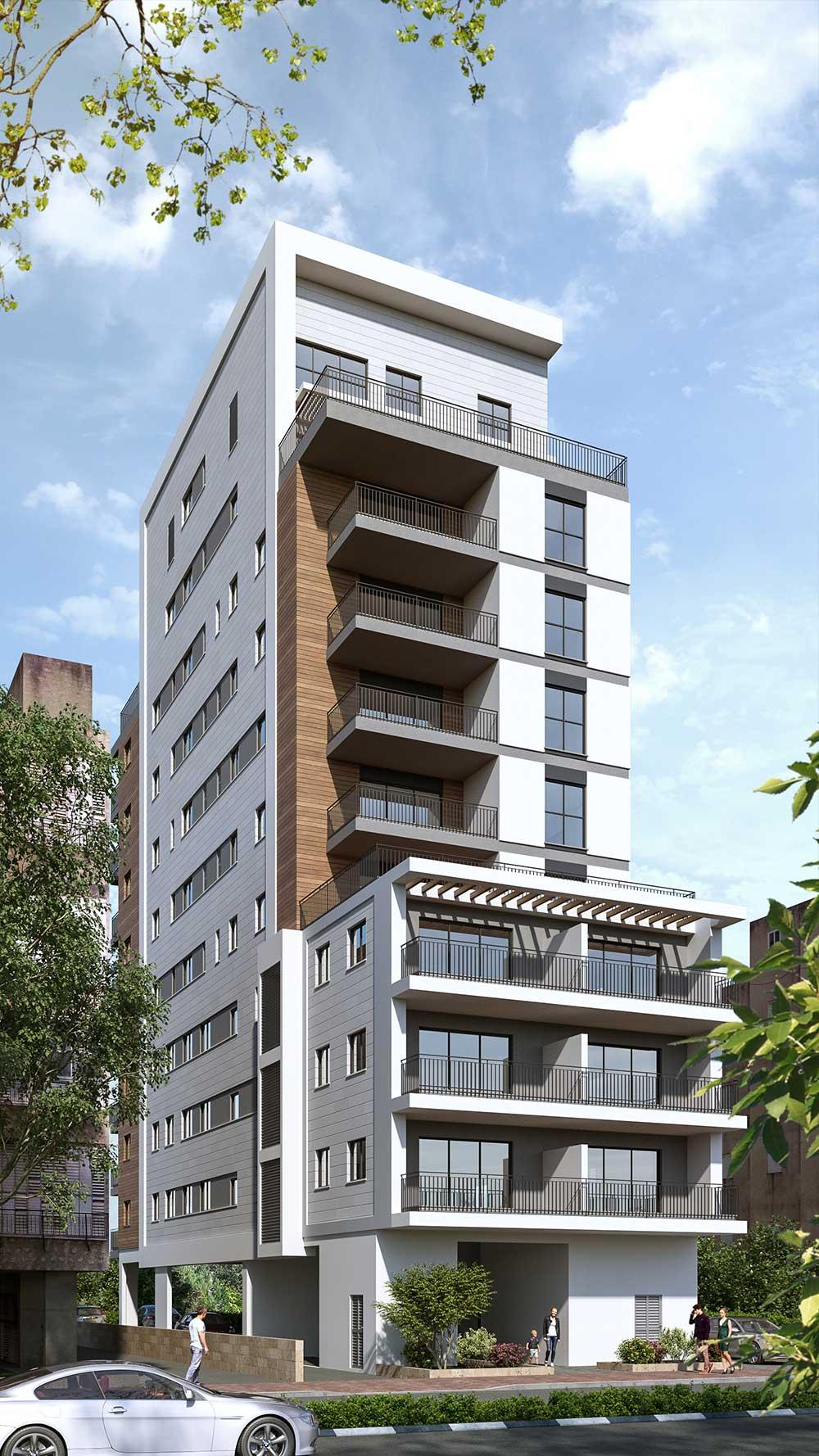 פרויקט סלנט 26 של קטה יזמות בניה והשקעות בו ייהרס מבנה ישן בן 6 דירות ובמקומו ייבנה בניין בוטיק אינטימי בן 21 דירות בסה״כ.