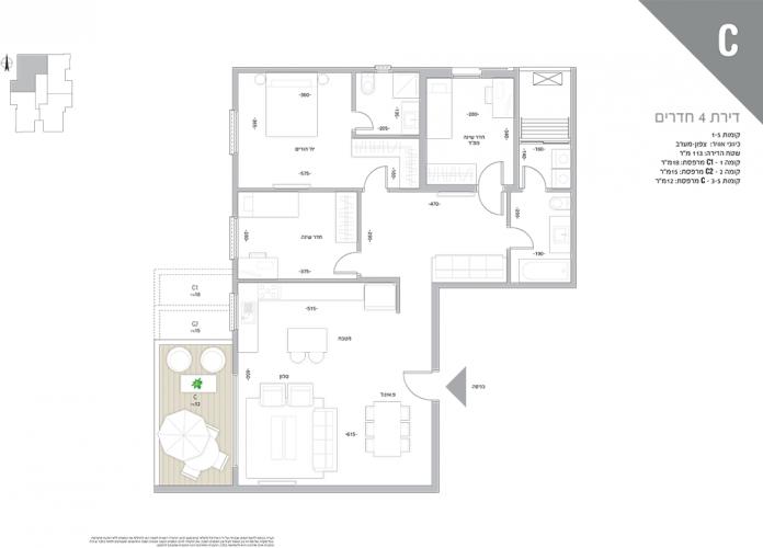 Trumpeldor_51_Floor-plan_C